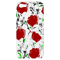 Red Roses 2 Apple Iphone 5 Hardshell Case by Valentinaart