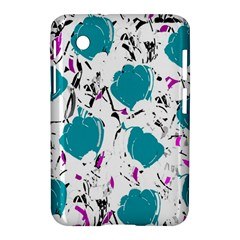 Cyan Roses Samsung Galaxy Tab 2 (7 ) P3100 Hardshell Case  by Valentinaart