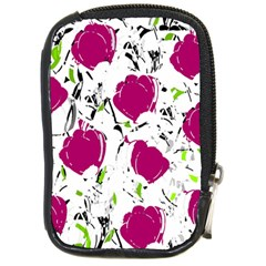 Magenta Roses Compact Camera Cases by Valentinaart