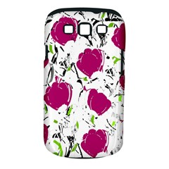 Magenta Roses Samsung Galaxy S Iii Classic Hardshell Case (pc+silicone) by Valentinaart