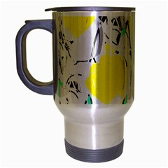 Yellow Roses 2 Travel Mug (silver Gray) by Valentinaart