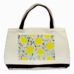 Yellow Roses 2 Basic Tote Bag by Valentinaart