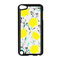 Yellow Roses 2 Apple Ipod Touch 5 Case (black) by Valentinaart