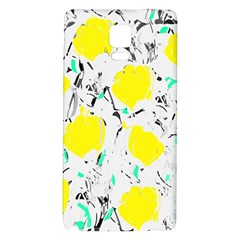 Yellow Roses 2 Galaxy Note 4 Back Case by Valentinaart