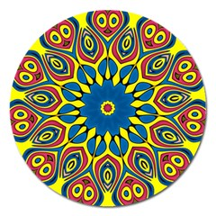 Yellow Flower Mandala  by designworld65