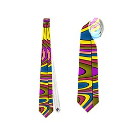 Ornament Mandala Neckties (one Side)  by designworld65