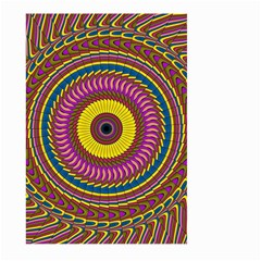 Ornament Mandala Large Garden Flag (two Sides) by designworld65