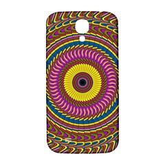 Ornament Mandala Samsung Galaxy S4 I9500/i9505  Hardshell Back Case by designworld65