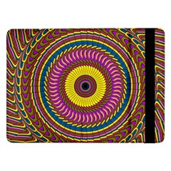 Ornament Mandala Samsung Galaxy Tab Pro 12 2  Flip Case by designworld65