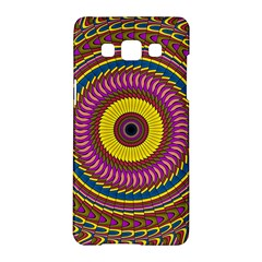 Ornament Mandala Samsung Galaxy A5 Hardshell Case  by designworld65