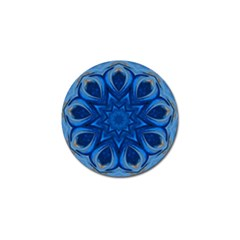 Blue Blossom Mandala Golf Ball Marker (4 Pack) by designworld65