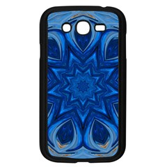 Blue Blossom Mandala Samsung Galaxy Grand Duos I9082 Case (black) by designworld65