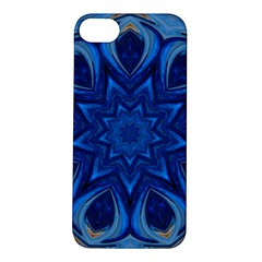 Blue Blossom Mandala Apple Iphone 5s/ Se Hardshell Case by designworld65