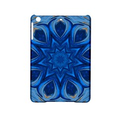Blue Blossom Mandala Ipad Mini 2 Hardshell Cases by designworld65