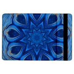 Blue Blossom Mandala Ipad Air Flip by designworld65