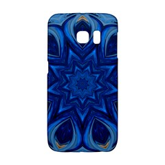 Blue Blossom Mandala Galaxy S6 Edge by designworld65