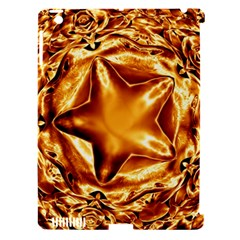 Elegant Gold Copper Shiny Elegant Christmas Star Apple Ipad 3/4 Hardshell Case (compatible With Smart Cover) by yoursparklingshop