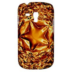 Elegant Gold Copper Shiny Elegant Christmas Star Samsung Galaxy S3 Mini I8190 Hardshell Case by yoursparklingshop