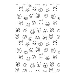 Sketchy Cats Shower Curtain 48  X 72  (small)  by Mishacat