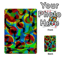 Colorful Smoothie  Multi Purpose Cards (rectangle)  by Valentinaart