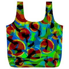 Colorful Smoothie  Full Print Recycle Bags (l)  by Valentinaart