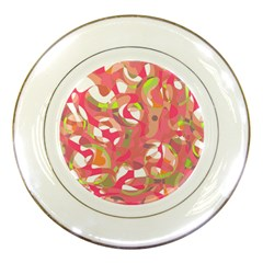 Pink Smoothie  Porcelain Plates by Valentinaart