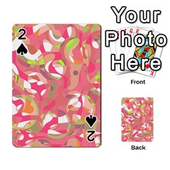 Pink Smoothie  Playing Cards 54 Designs  by Valentinaart