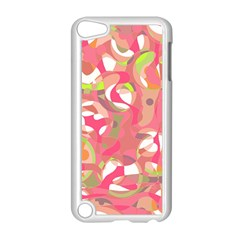 Pink Smoothie  Apple Ipod Touch 5 Case (white) by Valentinaart