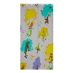 Spots                                                                                                      	shower Curtain 36  X 72  by LalyLauraFLM