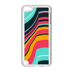 Bent Waves                                                                                                       apple Ipod Touch 5 Case (white) by LalyLauraFLM