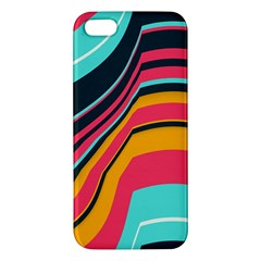 Bent Waves                                                                                                       			apple Iphone 5 Premium Hardshell Case by LalyLauraFLM
