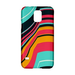 Bent Waves                                                                                                       			samsung Galaxy S5 Hardshell Case by LalyLauraFLM