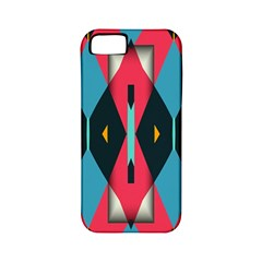 Triangles Stripes And Other Shapes                                                                                                        			apple Iphone 5 Classic Hardshell Case (pc+silicone) by LalyLauraFLM