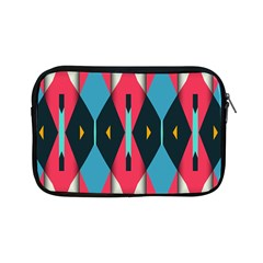 Triangles Stripes And Other Shapes                                                                                                        apple Ipad Mini Zipper Case by LalyLauraFLM
