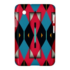 Triangles Stripes And Other Shapes                                                                                                        			samsung Galaxy Tab 2 (7 ) P3100 Hardshell Case by LalyLauraFLM