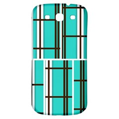 Black And White Stripes                                                                                                         			samsung Galaxy S3 S Iii Classic Hardshell Back Case by LalyLauraFLM