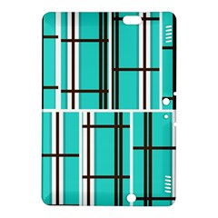 Black And White Stripes                                                                                                         kindle Fire Hdx 8 9  Hardshell Case by LalyLauraFLM
