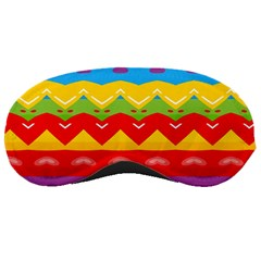 Colorful Waves                                                                                                           			sleeping Mask by LalyLauraFLM