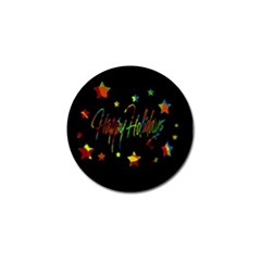 Happy Holidays Golf Ball Marker (10 Pack) by Valentinaart