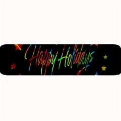 Happy Holidays Large Bar Mats by Valentinaart
