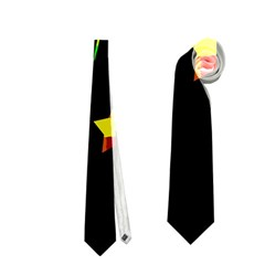Happy Holidays Neckties (two Side)  by Valentinaart