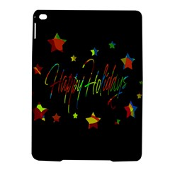 Happy Holidays Ipad Air 2 Hardshell Cases by Valentinaart