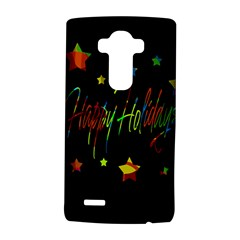 Happy Holidays Lg G4 Hardshell Case by Valentinaart