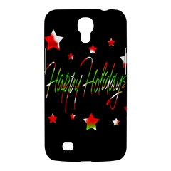 Happy Holidays 2  Samsung Galaxy Mega 6 3  I9200 Hardshell Case by Valentinaart