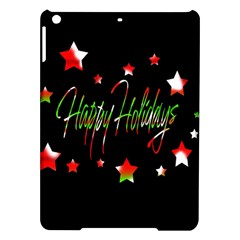 Happy Holidays 2  Ipad Air Hardshell Cases by Valentinaart