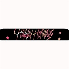 Happy Holidays 3 Small Bar Mats by Valentinaart