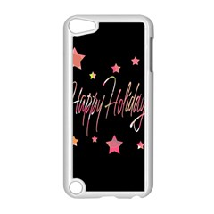 Happy Holidays 3 Apple Ipod Touch 5 Case (white) by Valentinaart