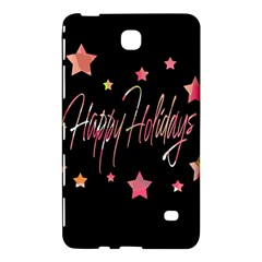 Happy Holidays 3 Samsung Galaxy Tab 4 (8 ) Hardshell Case  by Valentinaart