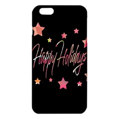 Happy Holidays 3 Iphone 6 Plus/6s Plus Tpu Case by Valentinaart
