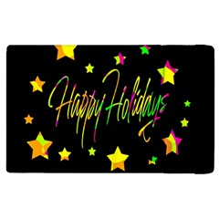 Happy Holidays 4 Apple Ipad 3/4 Flip Case by Valentinaart